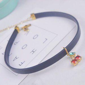 Kate Spade Belt Cherry Zircon Necklace